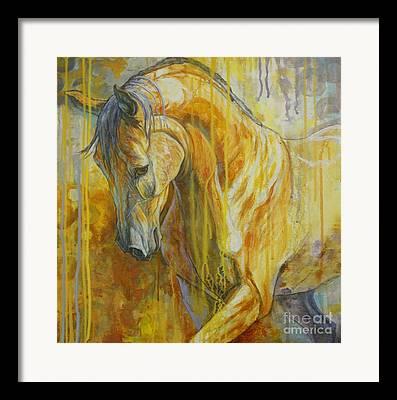 Bay Horse Framed Prints