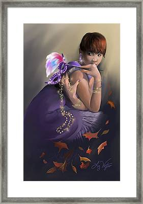 Autumn Allure Framed Print