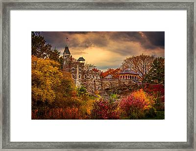 Autumn At Belvedere Castle  Framed Print