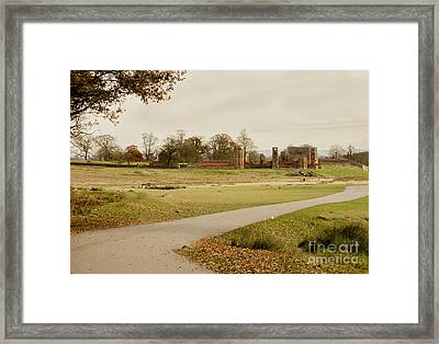 Autumn At Bradgate Park  Framed Print by Linsey Williams
