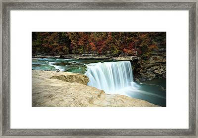 Autumn At Cumberland Falls Framed Print