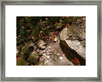 Autumn At Hallasan Framed Print by Yen