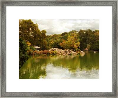 Autumn At Hernshead Framed Print