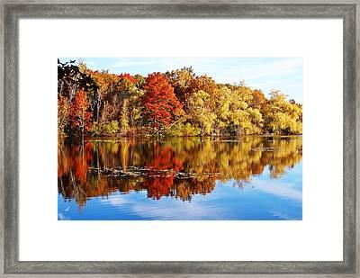 Autumn At Horn Pond Framed Print