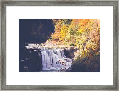 Autumn At Letchworth Framed Print