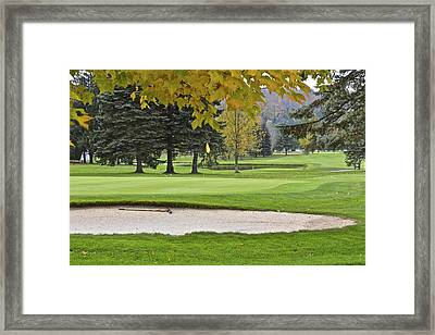 Autumn At Peak N Peak Framed Print