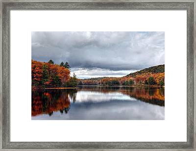 Autumn At Spectacle Pond Framed Print