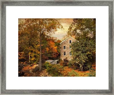 Autumn At Stone Mill Framed Print by Jessica Jenney