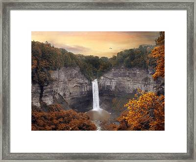 Autumn At Taughannock Framed Print by Jessica Jenney