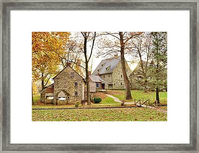 Autumn At The Cloister Framed Print