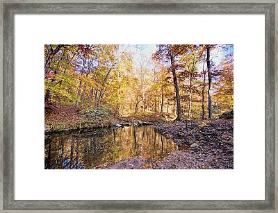 Autumn At The Longbow Framed Print
