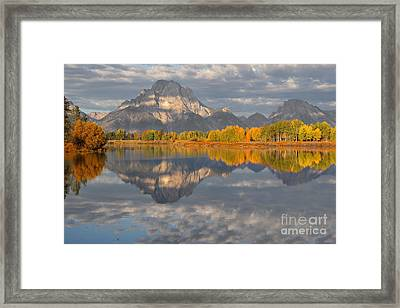 Autumn At The Oxbow Framed Print