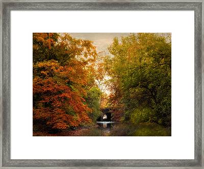 Autumn Attraction Framed Print by Jessica Jenney