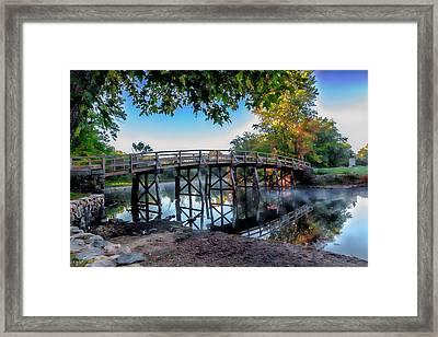 Autumn Begins  Framed Print by Larry Richardson