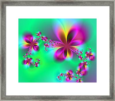 Autumn Bloom Framed Print by Ester  Rogers