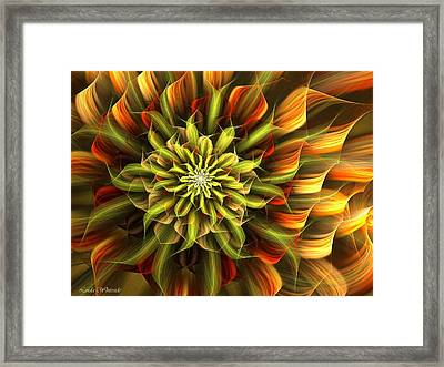 Autumn Bloom Framed Print