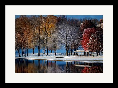 Munroe Falls Framed Prints