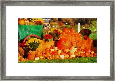 Autumn Bounty Framed Print