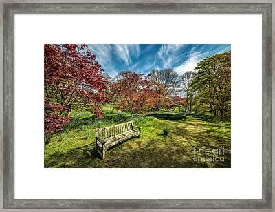 Autumn Break Framed Print by Adrian Evans