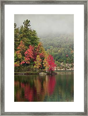 Autumn Breath Framed Print