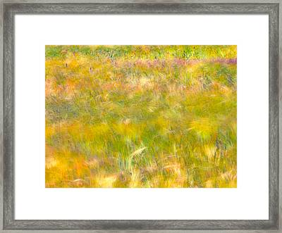 Wind Painting Framed Print by Leland D Howard
