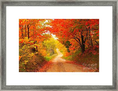 Autumn Cameo 2 Framed Print