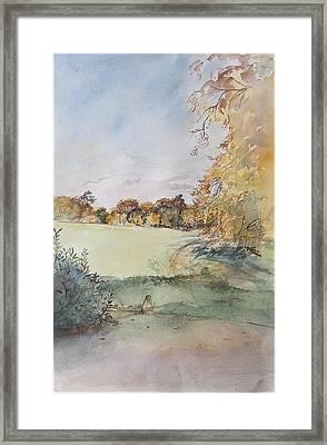 Autumn Framed Print by Caroline Hervey-Bathurst