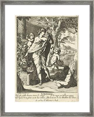 Autumn, Caspar Luyken Framed Print