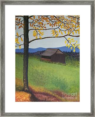Autumn Framed Print by Cecilia Stevens