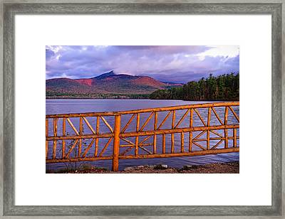 Autumn Chocorua Framed Print by Jeff Sinon
