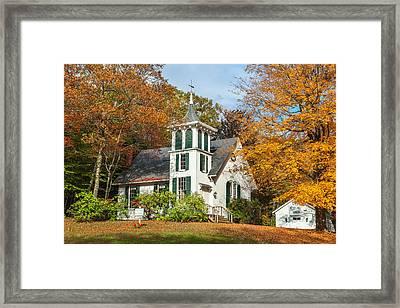 Autumn Church Framed Print