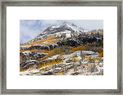 Autumn Clearning Framed Print by Darren  White