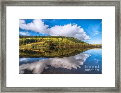 Autumn Clouds Framed Print by Adrian Evans