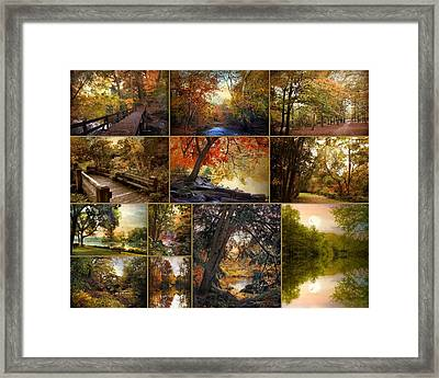 Autumn Collection Framed Print by Jessica Jenney