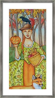 Autumn Colonial Framed Print