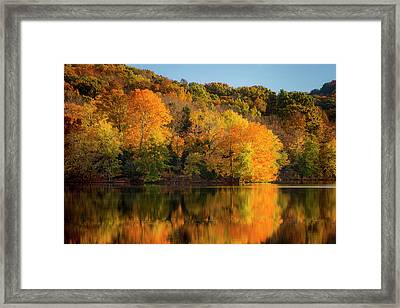 Autumn Color At Radnor Lake, Nashville Framed Print