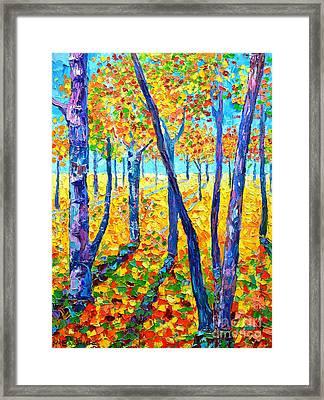 Autumn Colors Framed Print by Ana Maria Edulescu
