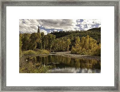 Autumn Colors At Christina Framed Print