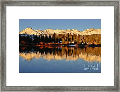 Autumn Colors At Molas Framed Print