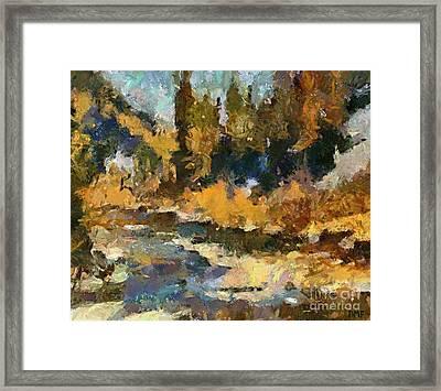 Autumn Colors Framed Print by Dragica  Micki Fortuna