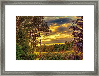 Autumn Colors Framed Print by Fred Larson