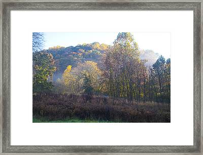 Autumn Colors Of Valley Forge Framed Print by Bill Cannon