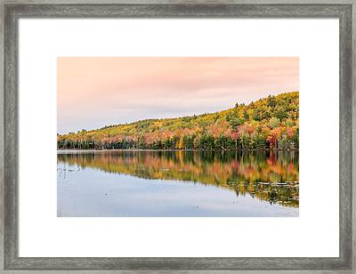 Framed Print featuring the photograph Autumn Colors  by Trace Kittrell