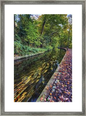 Autumn Colours Passing Framed Print by Ian Mitchell