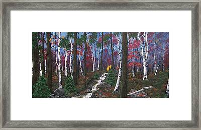 Autumn Colours Framed Print by Sharon Duguay