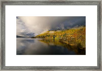 Framed Print featuring the photograph Autumn Colours  by Stephen Taylor