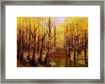 Autumn Cool Framed Print