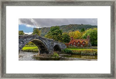 Autumn Cottage Framed Print by Adrian Evans