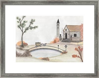 Autumn Countryside   Framed Print by Christine Corretti