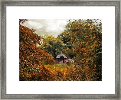 Autumn Cove Framed Print by Jessica Jenney